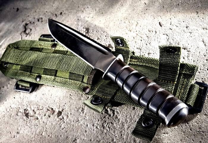 Армейский нож №1