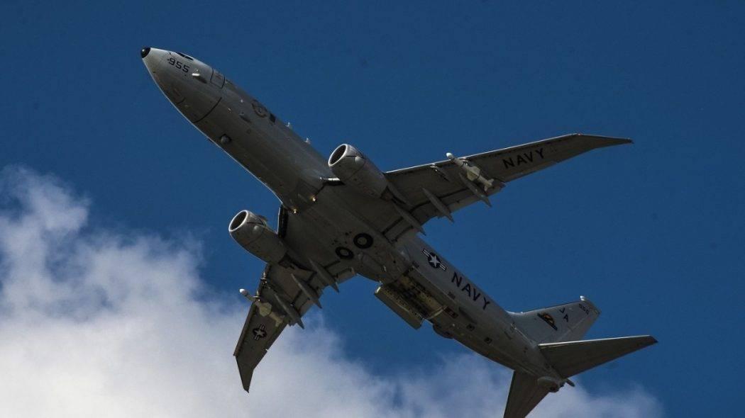 Военный самолет США провел разведку вблизи Крыма