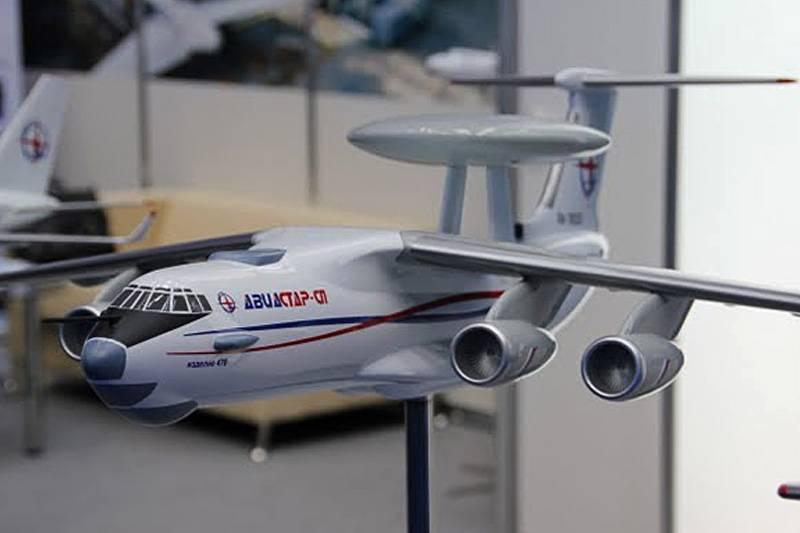 Испытания самолета ДРЛОиУ А-100 начнутся в июле 2017 года