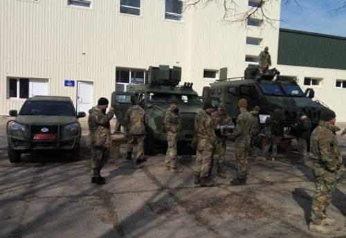 """Украинским военным снова показали """"Барс-8"""" и """"Богдан-2351"""""""