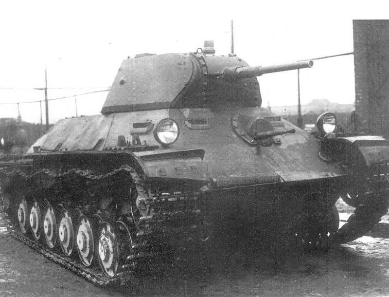 Tanque ligero T-126SP