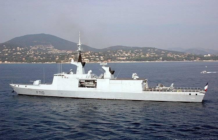 Французский фрегат вошел в Черное море