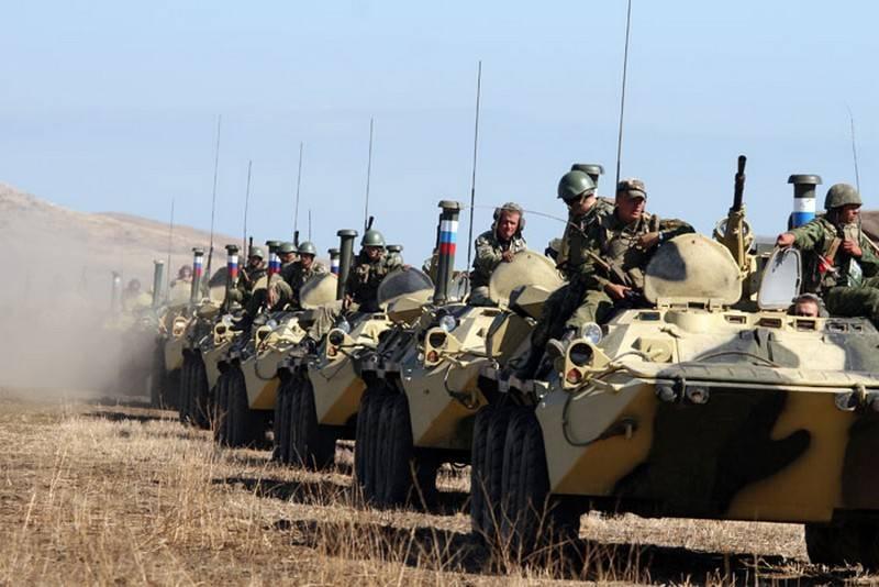В ВС РФ формируется 8-я общевойсковая армия