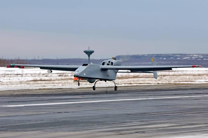 Comenzó el desarrollo de un avión no tripulado de reconocimiento Forpost-M.