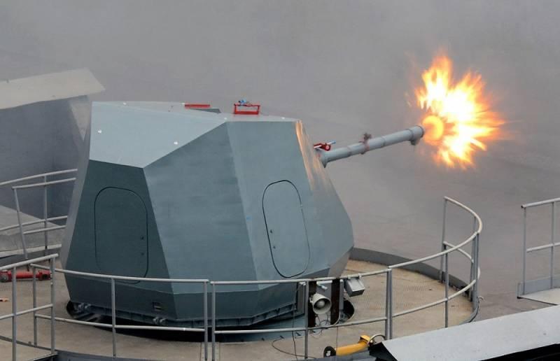 Die Patrouillenschiffe des 23550-Projekts werden mit der neuesten AK-176MA-Installation ausgerüstet