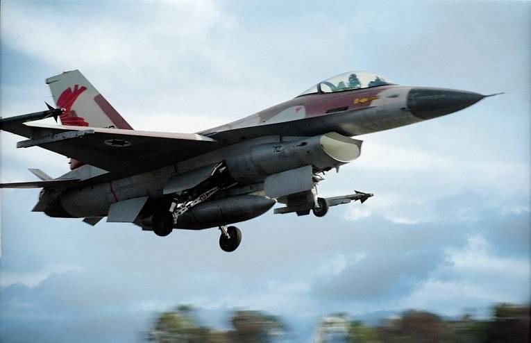 Израильские самолёты были обстреляны с территории Сирии
