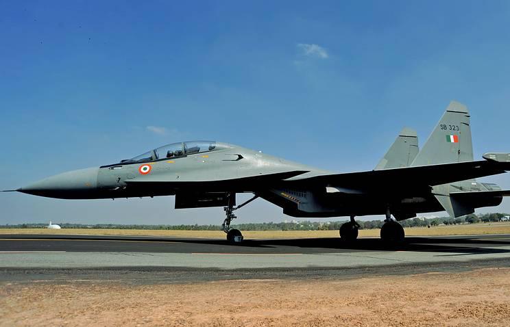 Rússia e Índia concordaram com o serviço de apoio à Força Aérea Indiana SU-30MKI