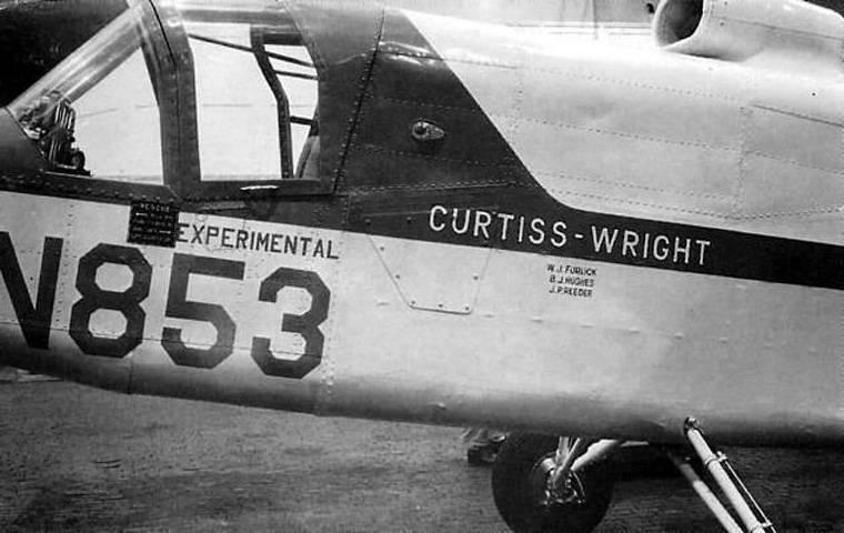 Experimenteller Convertoplan Curtiss-Wright X-100 (USA)
