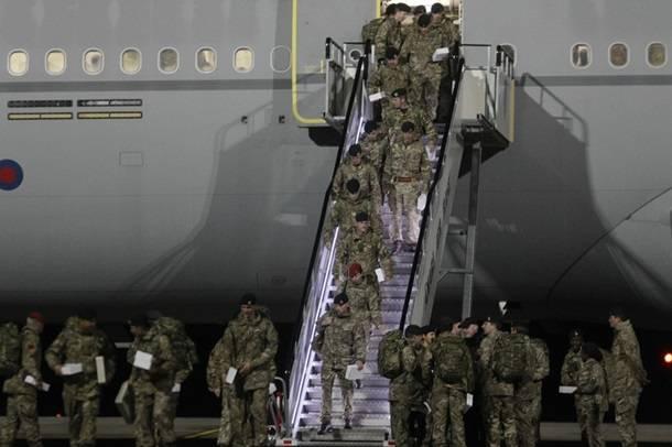 В Эстонию переброшено первое подразделение британских военнослужащих