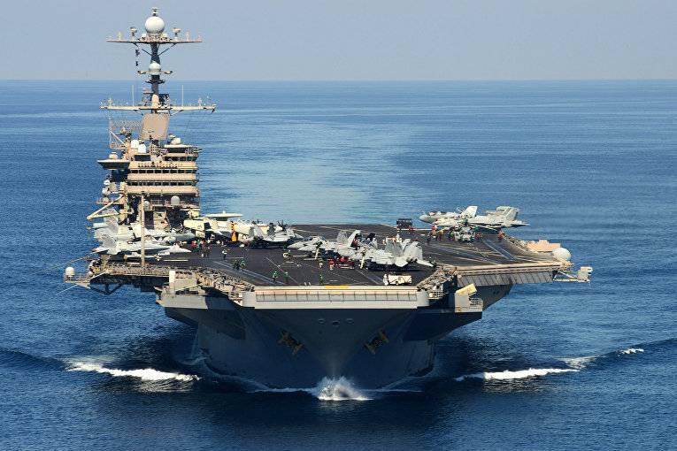 NI: A maioria dos porta-aviões americanos tem medo de mísseis balísticos russos e chineses