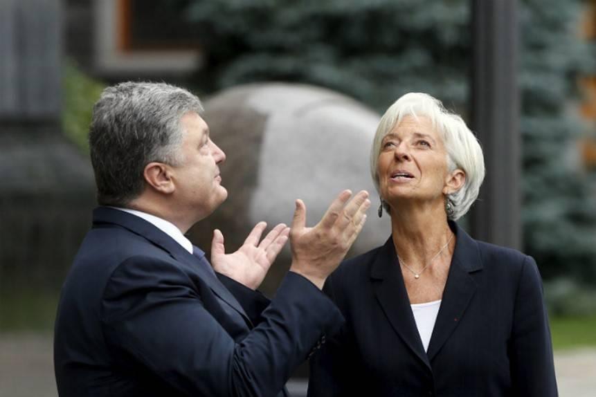 МВФ отложил рассмотрение программы Украинского государства