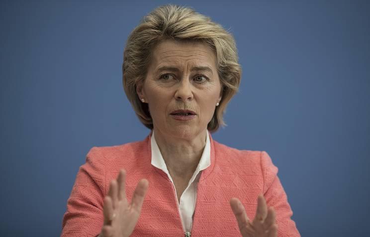 Министр обороны ФРГ не согласилась с Трампом насчет «огромного долга» перед НАТО