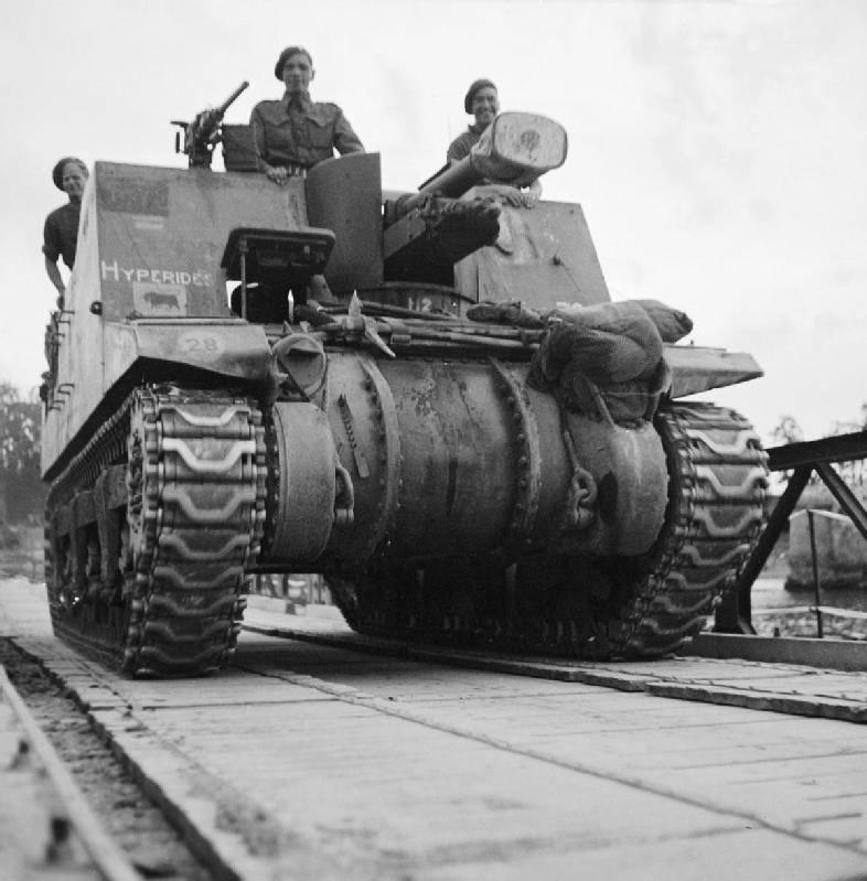 Самоходные гаубицы Второй мировой войны. Часть 11. Sexton