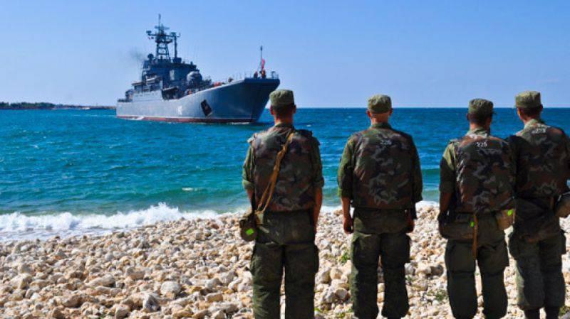 Учения ВДВ сучастием Черноморского флота иВКС начались вКрыму