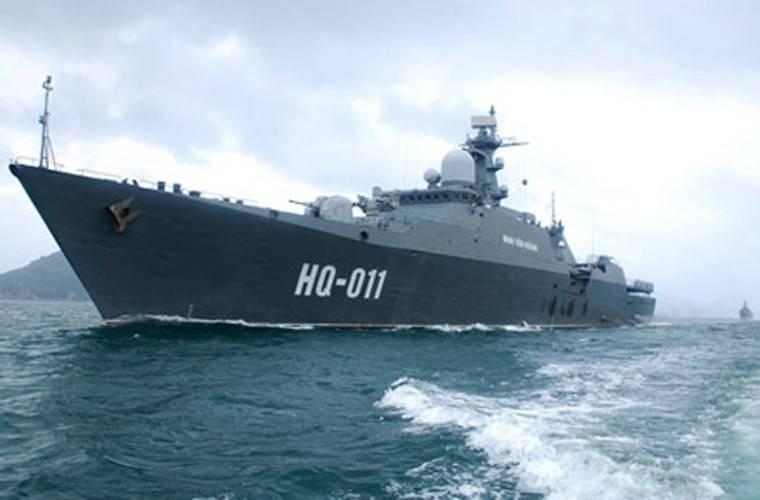 """Вьетнамский фрегат будет демонстрировать российский проект """"Гепард-3.9"""" на выставке в Малайзии"""