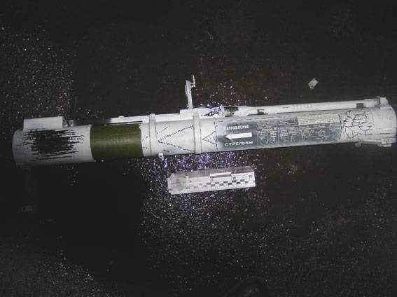 В Ровно по зданию полиции стреляли из гранатомёта