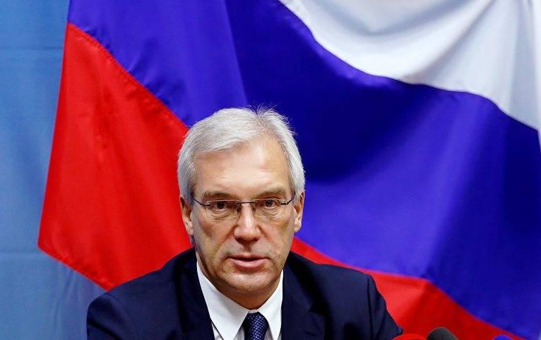 Грушко: НАТО не готова к сотрудничеству, предложенному Россией