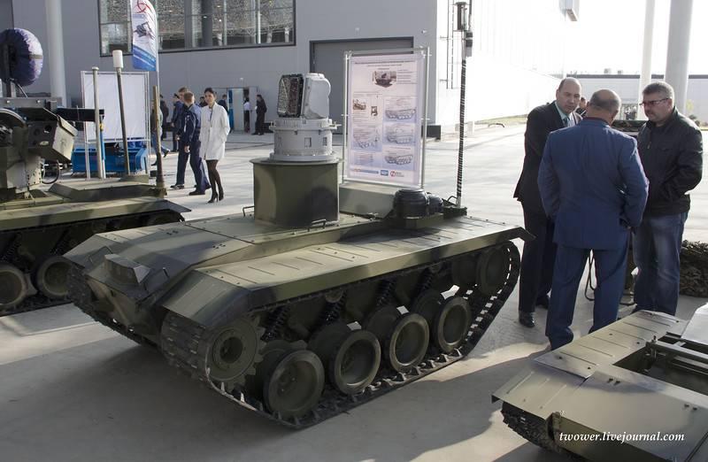 """Der Kampfroboter """"Nerekhta"""" wird mit Panzern kämpfen können"""