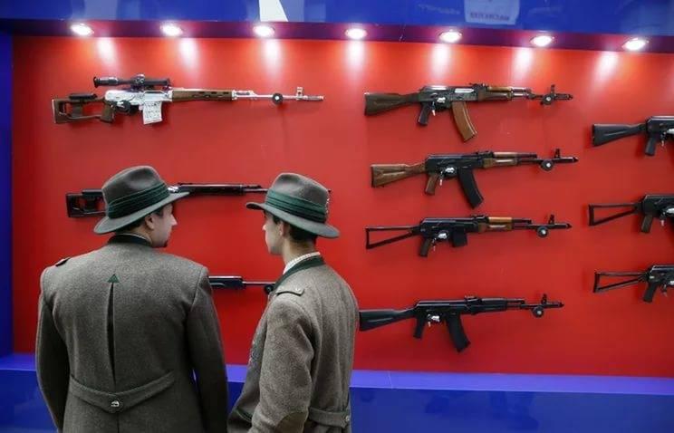 Американская фирма хочет поставлять АК-47 правительству США