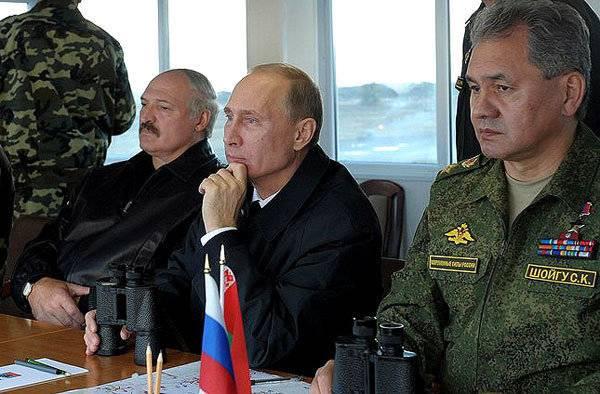 """Gemeinsame Übungen von Russland und Belarus """"West-2017"""" werden von 14 bis September 20 stattfinden"""