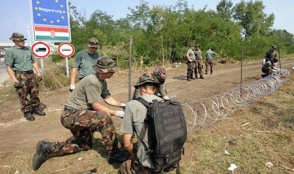 Минобороны Венгрии сформировало новую воинскую часть для противодействия притоку нелегалов