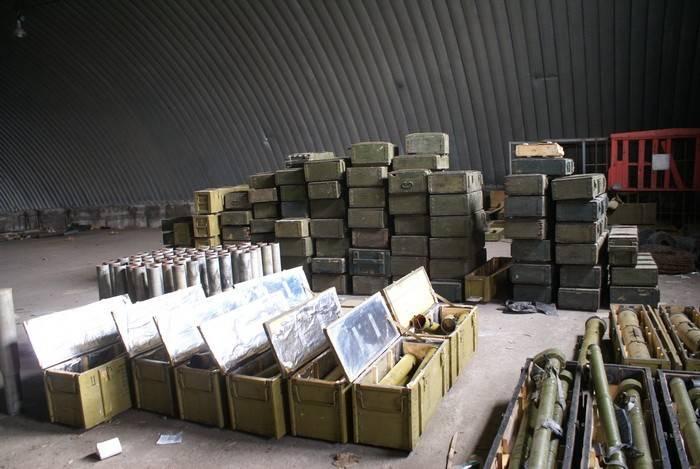 """I servizi di intelligence ucraini hanno scoperto nel deposito """"misterioso"""" di munizioni di Zaporozhye"""