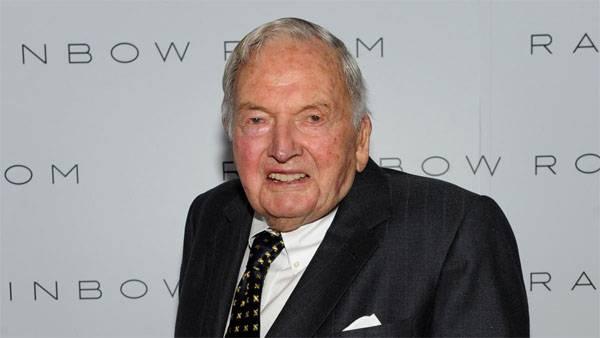 David Rockefeller faleceu no 102