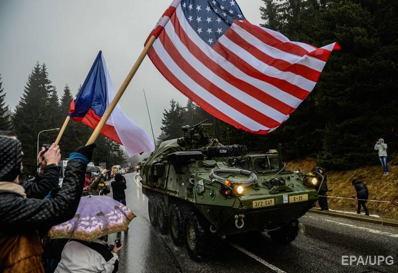 Al final de la semana, las columnas con tropas estadounidenses llegarán a Polonia.