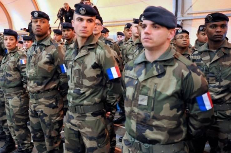 В Эстонию прибыла первая группа французских военных