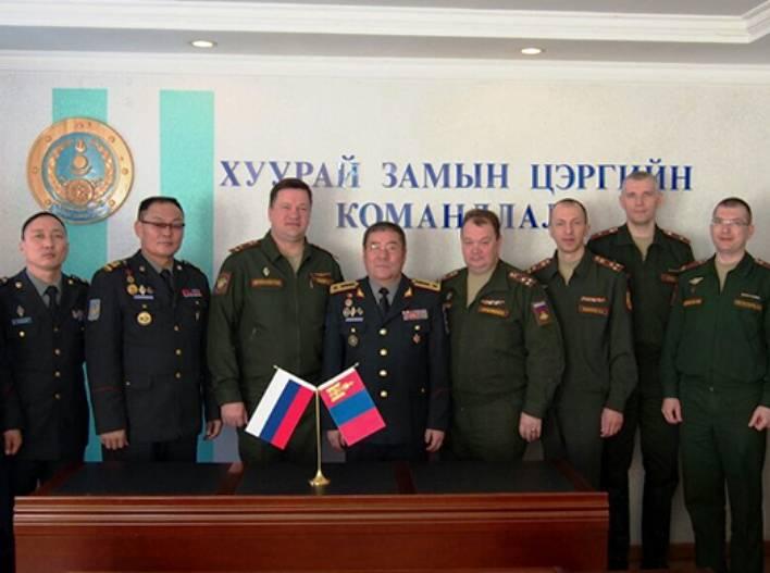 Минобороны РФ и Монголии планируют проведение совместного учения «Селенга»