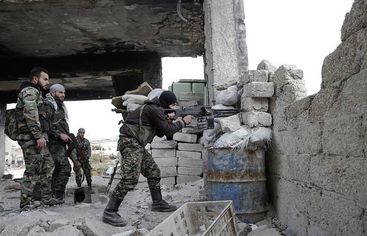 Сирийская армия ведет ожесточенные бои в Дамаске