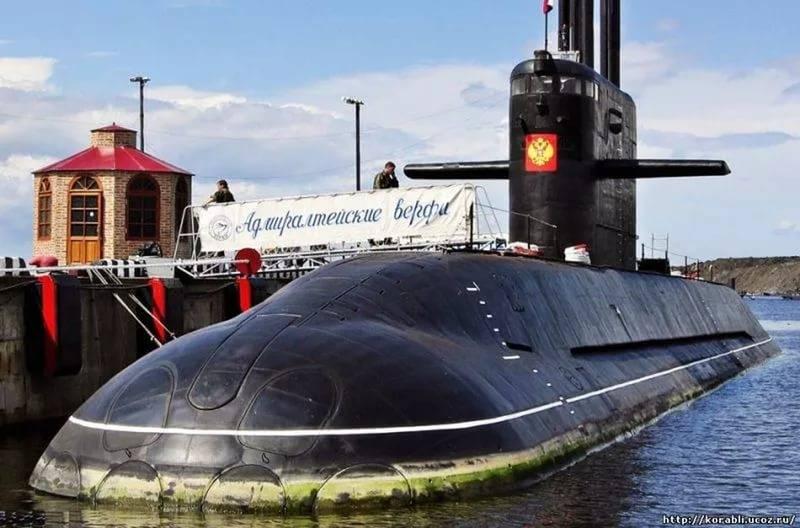 """Срок сдачи второй подводной лодки проекта 667 """"Лада"""" сдвинут еще на год"""