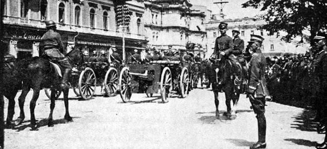 Фиолетовый луч. Украина 1918. Рассказ Паустовского