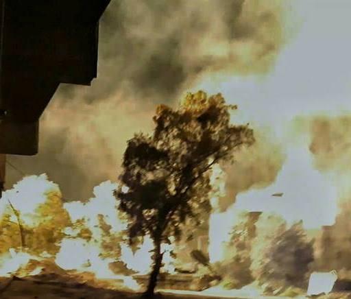 Der Einsatz von UR-77 in Syrien zur Zerstörung militanter Positionen