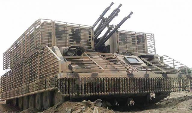 Модернизация ЗСУ-23-4 в Сирии