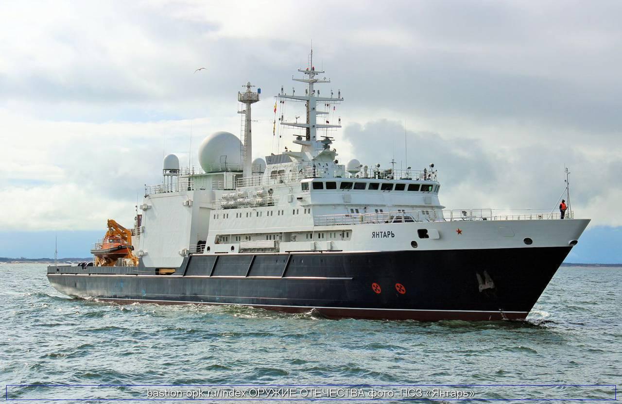 Воздвигнутое вКалининграде судно «Янтарь» нашло истребители, потерянные уберегов Сирии