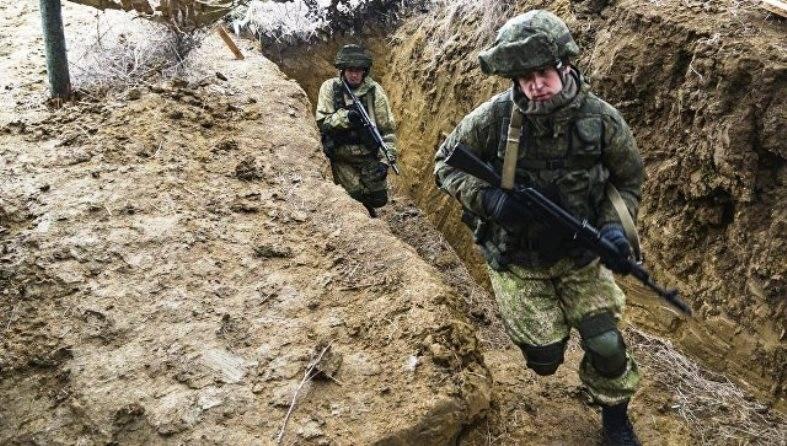 В Крыму проходит завершающий этап учения ВДВ