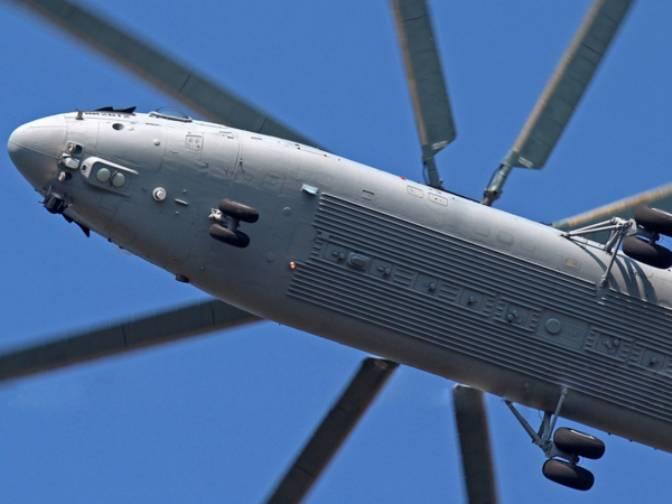Китай и Россия приступили к реализации проекта по созданию тяжелого вертолёта