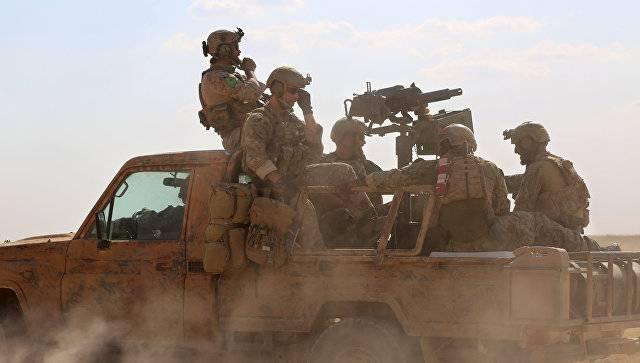 Американский десант высадился близ Ракки