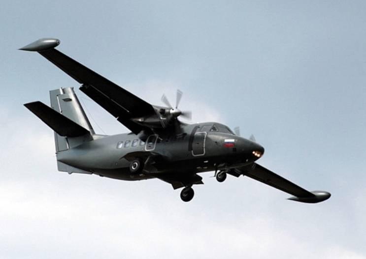 Produktion von Flugzeugen L-410 in Jekaterinburg