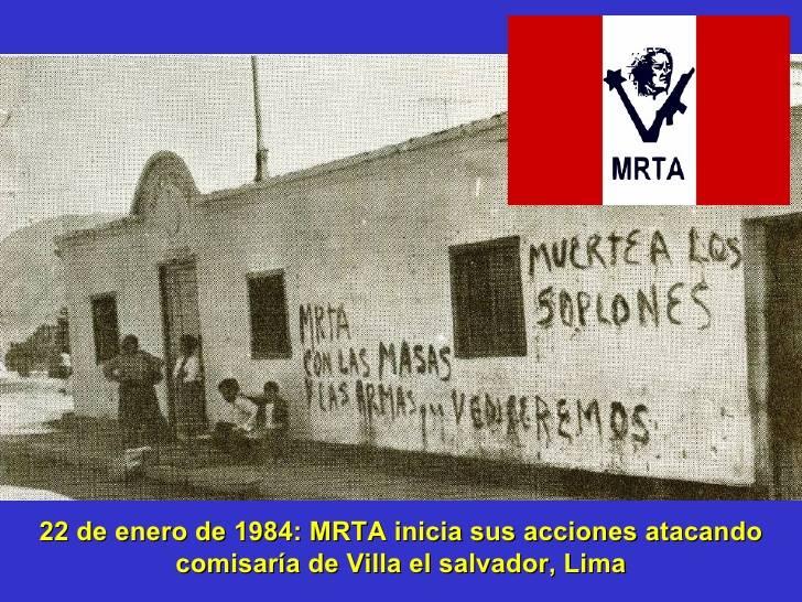 Peruanische Gerilia. Teil von 2. Die Tupac Amaru-Bewegung beginnt zu kämpfen