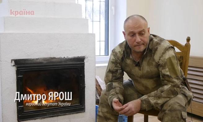 """Yarosh contou como a Ucrânia deveria """"devolver"""" a Crimeia"""