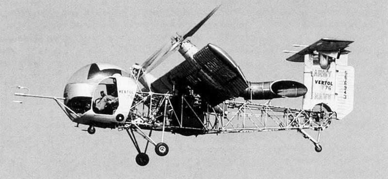 Экспериментальный конвертоплан Vertol VZ-2 (США)