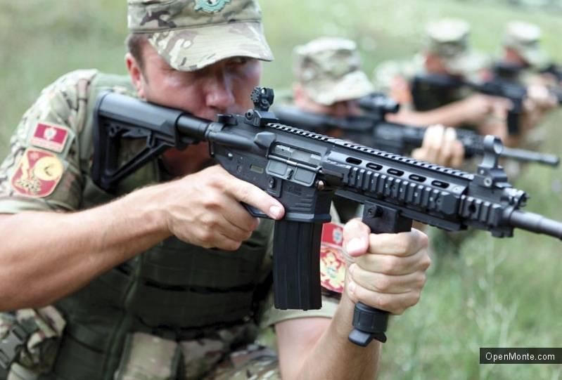 Военный потенциал Черногории