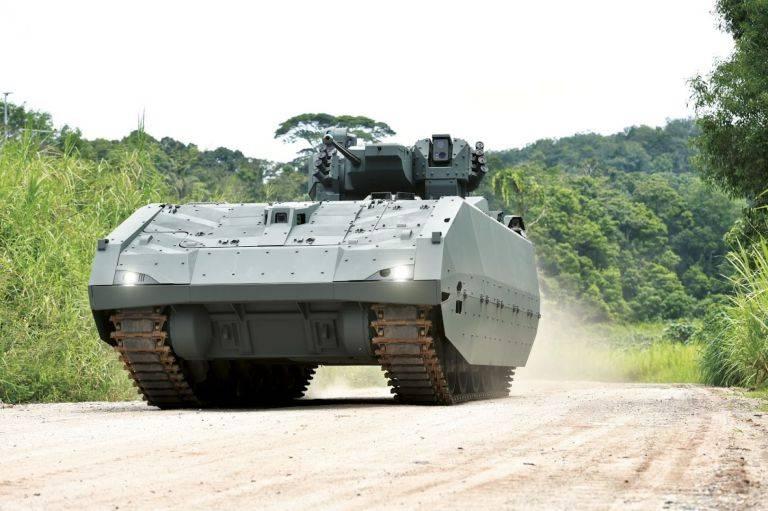 Singapur kauft das neueste firmeneigene BMP