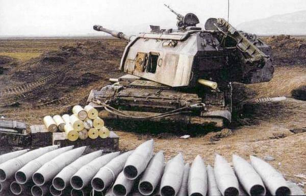 Ejercicios de gran escala de artillería TsVO.