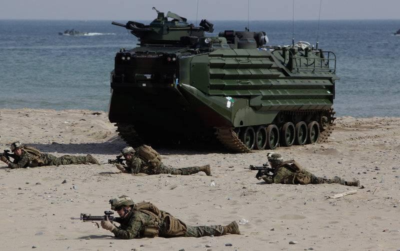 В Японии создается морская пехота
