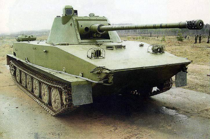 ПТ-76 – гроза американской армии
