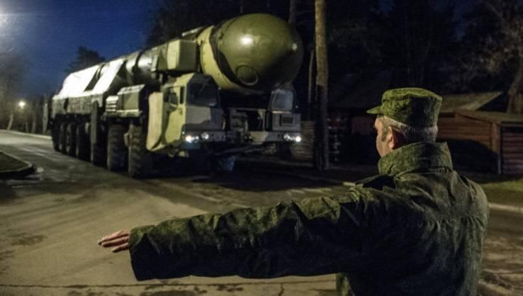 Die Entfernung von Teilen der strategischen Raketentruppen aus dem Schlag von Terroristen wird während der Übung funktionieren