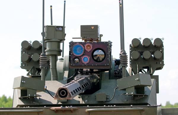"""Минобороны РФ представило обновленный образец робототехнического комплекса """"Вихрь"""""""